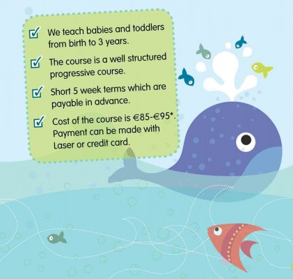 Aquababies, toddler and baby swimming classes Ireland