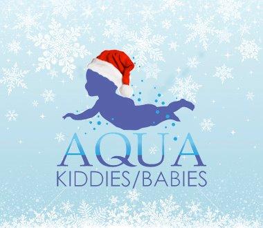 Aquababies xmas logo