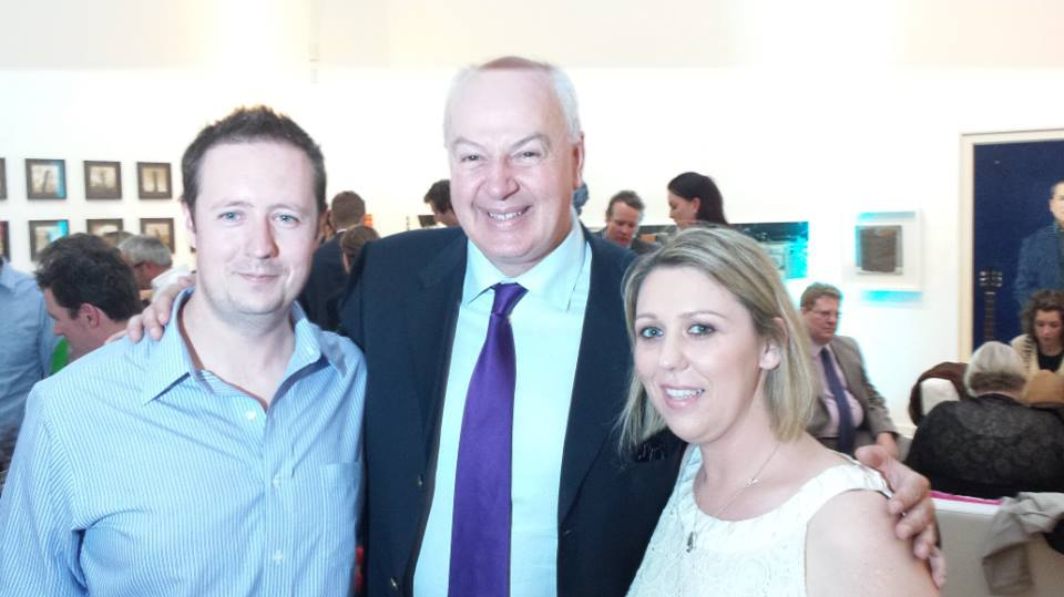 Aquababies with Bobby Kerr Irish entrepreneur and businessman at start up awards 2013