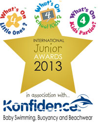 International Junior Awards 2013 logo