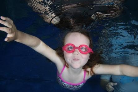 Aisling underwater