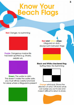 what beach flags mean