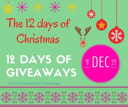 12 days of give aways
