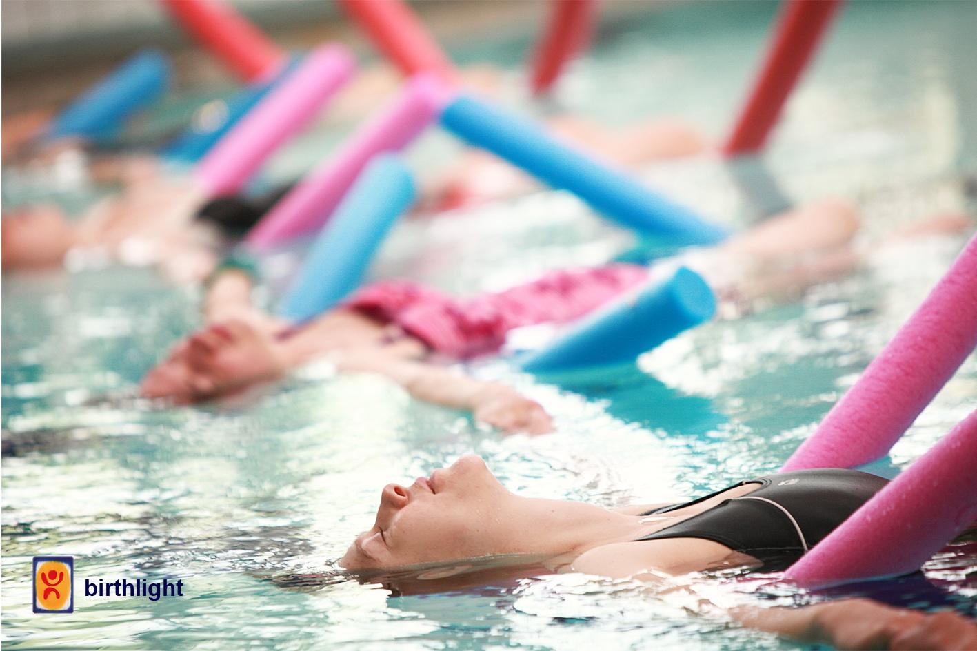 Image of Aqua yoga class